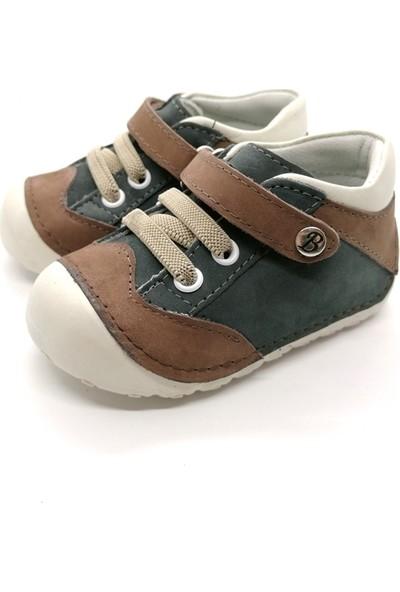 Arulens Anatomik Deri Kahverengi Çocuk Ayakkabı