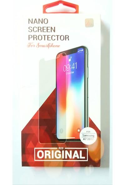Red Original Samsung Galaxy A7 2017 Nano Ekran Koruyucu