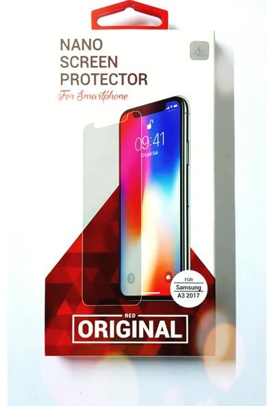 Red Original Samsung Galaxy A3 2017 Nano Ekran Koruyucu