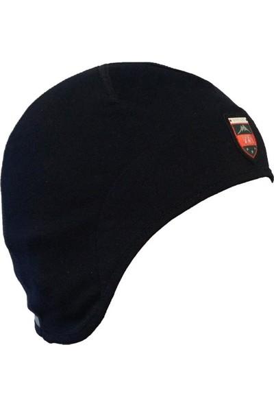 Woolnat Terletmeyen Merino Yün Reflektörlü Kulak Korumalı Şapka