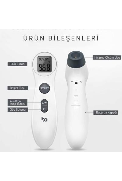 Mothersmart femometer® Temassız Alından Ateş Ölçer
