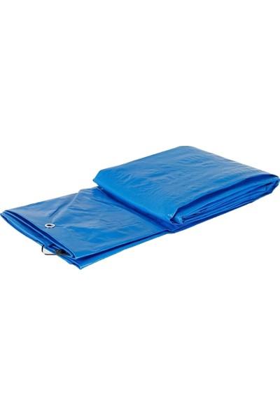 Hemen Herşey Mavi Su Geçirmez Pullu Çadır Branda Tente Yağmurluk Gölgelik 5 x 8 M