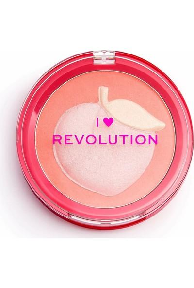 I Heart Revolution Fruity Peach Allık