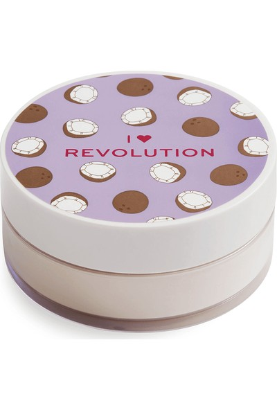 I Heart Revolution Loose Baking Coconut Pudra