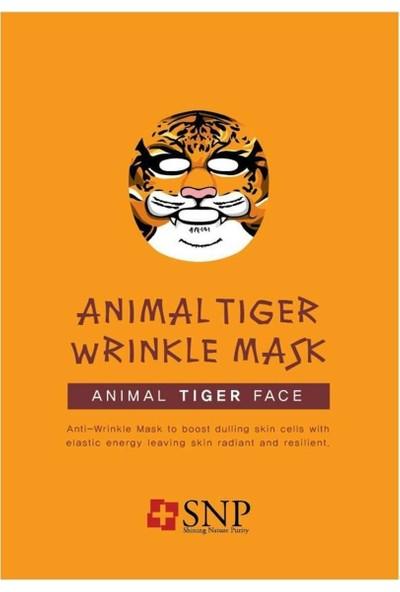 Snp Animal Tiger Wrinkle Maske 25ml
