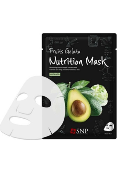 Snp Fruits Gelato Nutrition Maske 33 ml