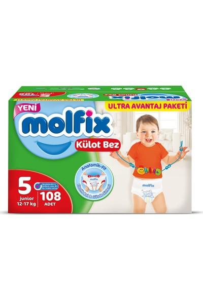 Molfix Külot Bez 5 Beden Junior 108'li Ultra Avantaj Paketi Kutu