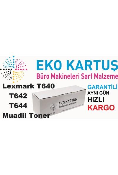 Eko Kartuş Lexmark T640-T642-T644-X642-X644 (64015HA) 25000 Sayfa Siyah Muadil Toner