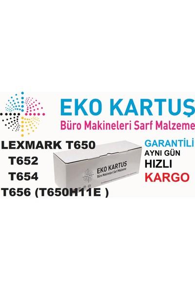 Eko Kartuş Lexmark T650 -T652-T654-T656 (T650H11E) 25000 Sayfa Siyah Muadil Toner