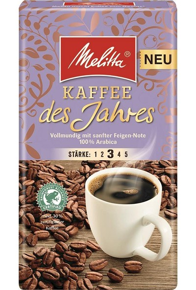 Melitta Kaffee Des Jahres 2020 500 gr