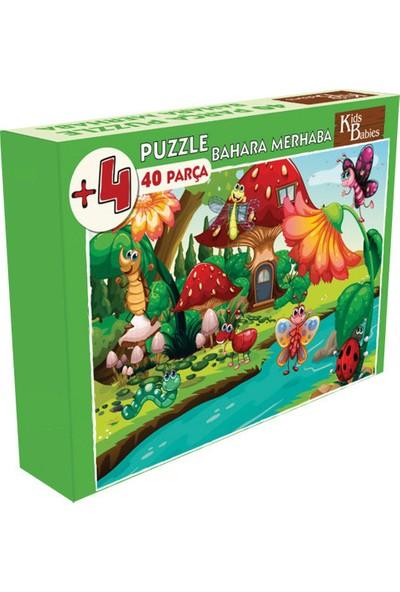 Kids Babies Bahara Merhaba Puzzle 40 Parça
