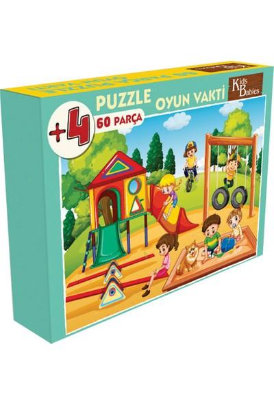 Kids Babies Oyun Vakti Puzzle 60 Parça
