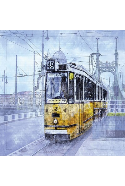 Doğuş Nostaljik Tranvay 1000 Parça Puzzle