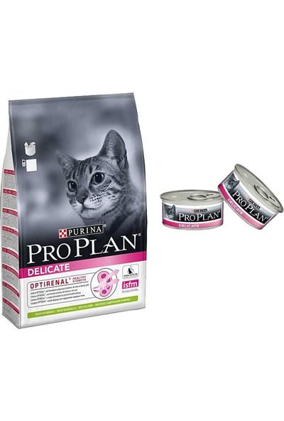 Pro Plan 3 kg Delicate Hindili ve Pirinçli Kedi Maması + 2 Adet Delicate Konserve
