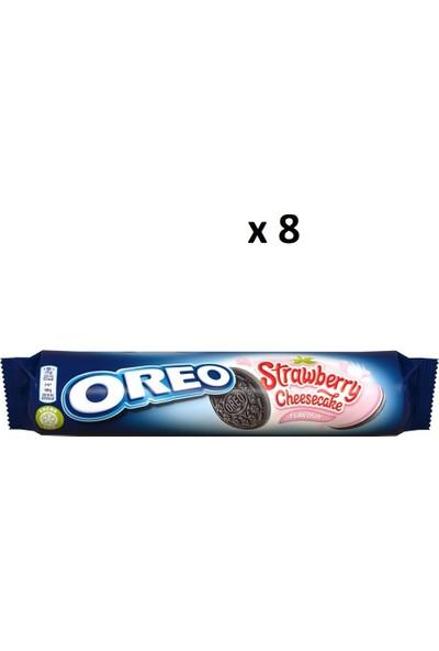 Oreo Strawberry Cheesecake - 8 Adet - 154 gr