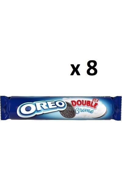 Oreo Double Bisküvi X2 Kremalı - 8 Adet - 185 gr