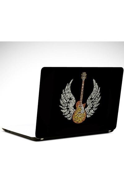 Dekolata Gitar Kanatlar Laptop Sticker