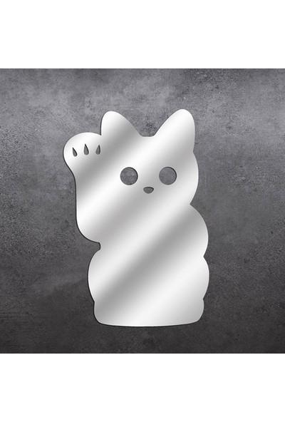 Dez Sevimli Kedi Akrilik Dekoratif Ayna