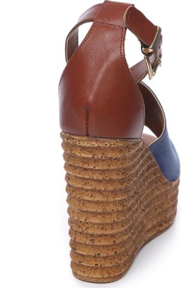 Kemal Tanca Kadın Deri Ayakkabı