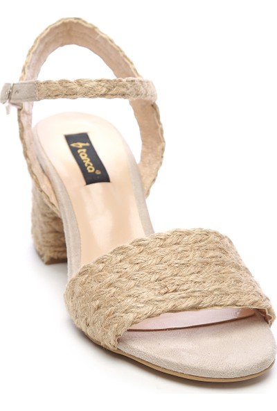 Kemal Tanca Kadın Hasır Ayakkabı
