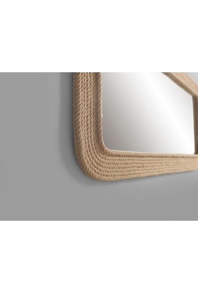 Dekorbizden Halatlı Salon Aynası Aynası