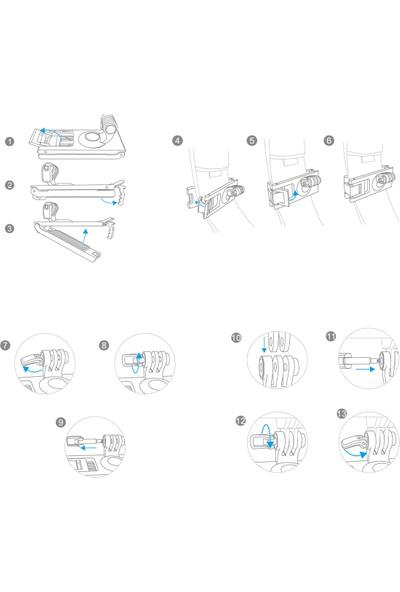 Pgytech Aksiyon Kameralar İçin Uzatmalı Tripod