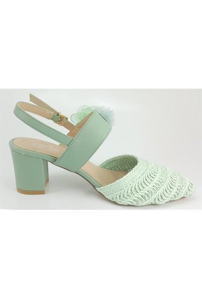 Guja 176 Günlük Kadın Sandalet Yeşil