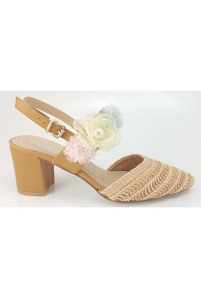 Guja 176 Günlük Kadın Sandalet Bej