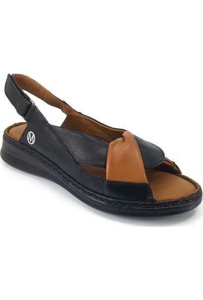 Messi̇mod 3568 Günlük Kadın Sandalet Siyah