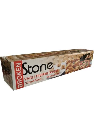 Broken Stone Yağlı Pişirme Kağıdı 50 mt