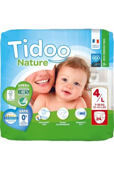 Tidoo Hipoalerjenik-Ekolojik Bebek Bezi No:4 Maxi Single 7-18 kg