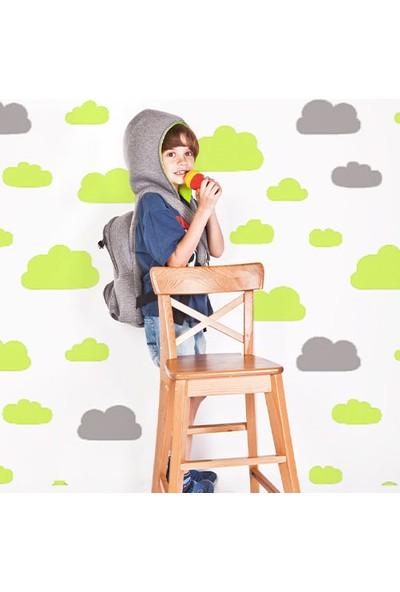 Morikukko Gri/neon Sarı Çocuk Kapüşonlu Sırt Çantası