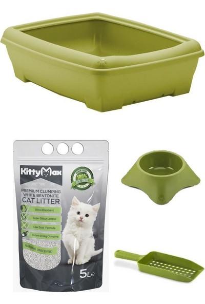 Mamazade Kedi Tuvaleti, Mama Kabı, Kum, Kürek