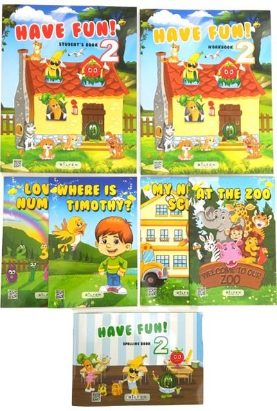 Bilfen Yayınları İlkokul 2. Sınıf İngilizce Seti Have Fun