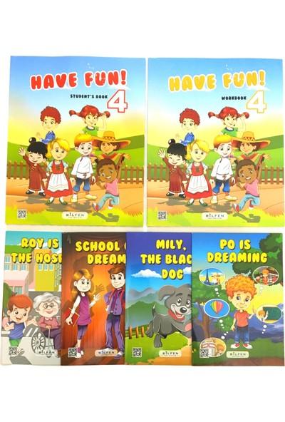 Bilfen Yayınları İlkokul 4. Sınıf İngilizce Seti Have Fun