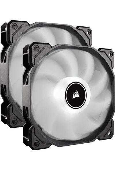 Corsair AF140 140 mm LED Fan Dual Pack Beyaz Kasa Fanı CO-9050088-WW