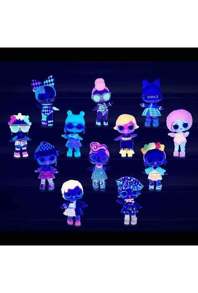 L.O.L Surprise Simli ve Işıklı LOL Neon Bebekler 8 Sürpriz Lights Glitter LLUB4000