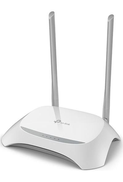 TP-Link TL-WR840N 300 Mbps Kablosuz 4 Portlu Menzil Genişletici/Access Point/Router