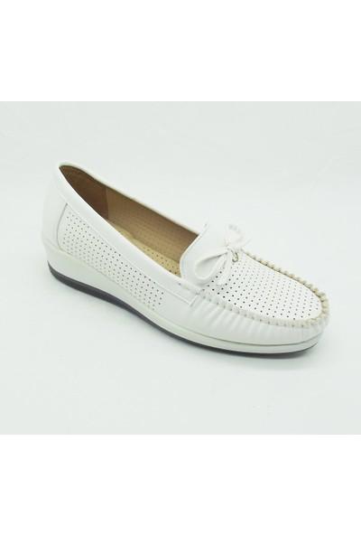 Polaris 158445.Z Kadın Comfort Beyaz Günlük Ayakkabı