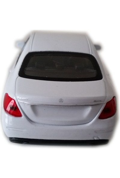 Welly Mercedes - Benz E-Class Beyaz Model Çek Bırak Oyuncak Araba
