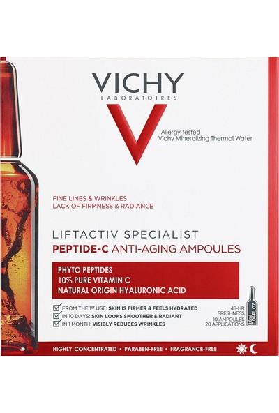 Vichy Liftactiv Peptit-C Kırışıklık Karşıtı Ampul Serum 10 x 1.8 ml