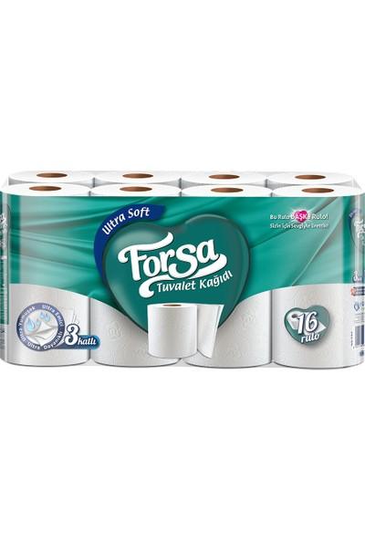 Forsa Üç Katlı Ultra Soft Tuvalet Kağıdı 16'lı
