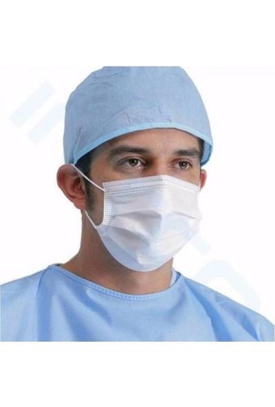 Sampurchase Disposable Mask 3 Katlı Telli Cerrahi Maske 50 Adet 2'li