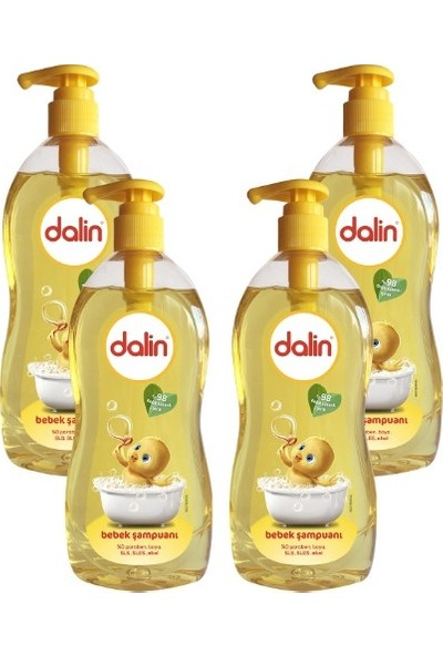 Dalin Şampuan Klasik 500 ml x 4 Adet