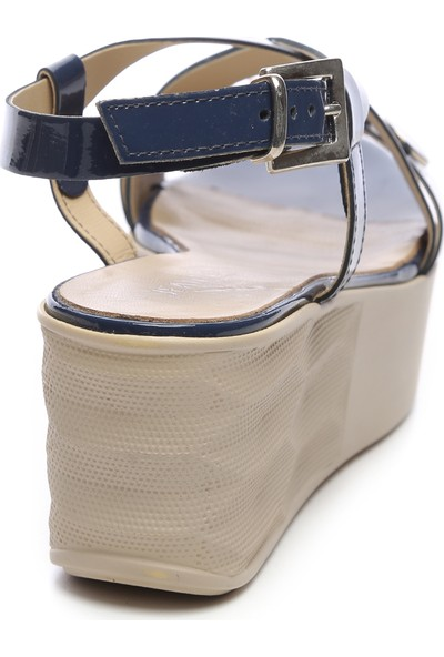 Jeannot Kadın Deri Sandalet Sandalet