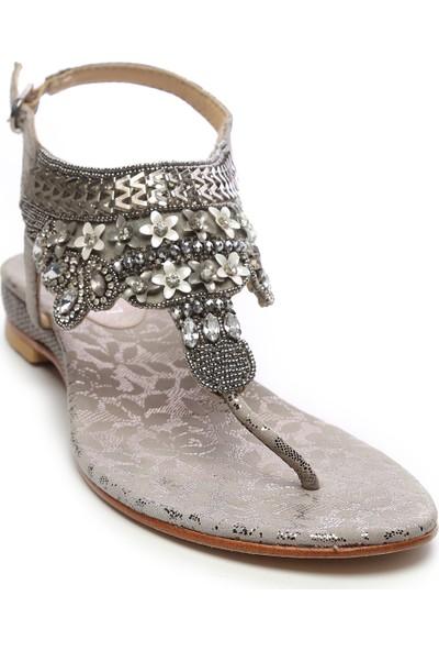 Amani Kadın Deri Sandalet Sandalet