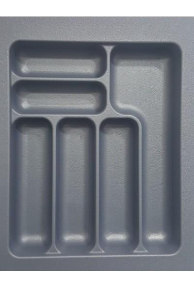 Arwino Starax 34 cm - 49 cm Çekmece İçi Kaşıklık Gri