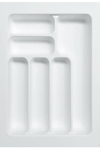 Arwino Starax 39 cm - 49 cm Çekmece İçi Kaşıklık Beyaz
