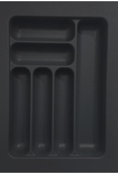 Arwino Starax 34 cm - 49 cm Çekmece İçi Kaşıklık Antrasit