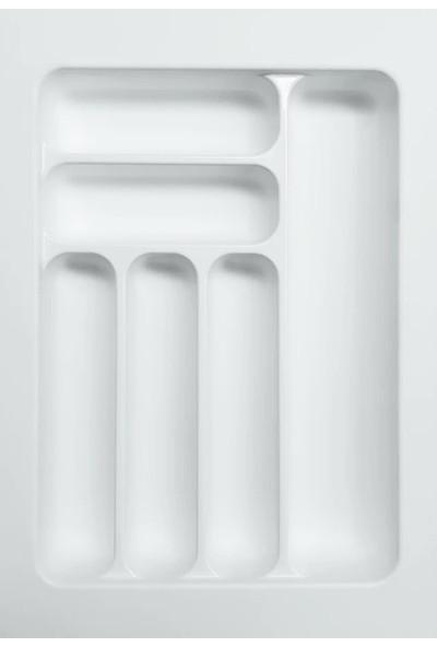 Arwino Starax 34 cm - 49 cm Çekmece İçi Kaşıklık Beyaz